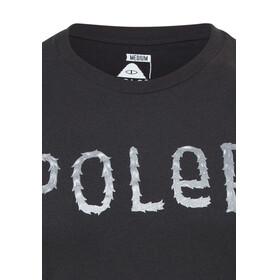 POLER Furry Font Kortærmet T-shirt Herrer sort